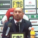 Spa stampa,Fusco,allenatore in seconda Spezia.Bene il Perugia nel primo, Spezia nel secondo tempo.Han deciso episodi http://t.co/wTESwIyWMO