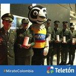 .@PoliciaColombia también apoya la Teletón y úne sus fuerzas para hacer un país mejor #MirateColombia http://t.co/HN9ZycAHc5