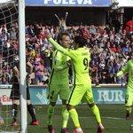 Mirá el gol de Luis Suárez para la victoria parcial del Barcelona http://t.co/Ciao5QGblU http://t.co/GLddYWHMJC