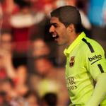 #Barcelona le gana 3-1 a #Granada. Suárez marcó el segundo ▶ http://t.co/KYinj8VOAD http://t.co/u5vfxKGJo0