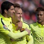 #LigaBBVA   Final: Barcelona venció 3-1 al Granada con brillante actuación de @LuisSuarez9. ►http://t.co/UUvZ5fZ7L2◄ http://t.co/d8e1tKuclK