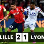 LOL sincline pour la 1ère fois en trois mois en L1, à Lille (2-1), ouvrant la porte au PSG à Monaco demain #LOSCOL http://t.co/sTXNeIp0QC