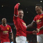 Manchester United remains in top four of EPL table. Two Wayne Rooney goals lifts Red Devils past Sunderland, 2-0. http://t.co/3ptqMYyVCt