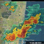 Heavy showers almost nearly stationary. Localized flooding possible in poor drainage areas. @nbc6 #miami #FLL http://t.co/CtPtQQWM47