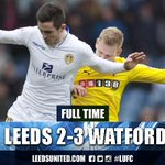 FT. It's all over at Elland Road and Watford are 3-2 winners after coming back from two goals down. #lufc http://t.co/U64g8BIRH3