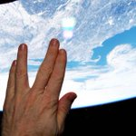 Astronaut sends Vulcan tribute to Leonard Nimoy from final frontier http://t.co/i8cWbbZ1dd http://t.co/mUkNkydsoJ