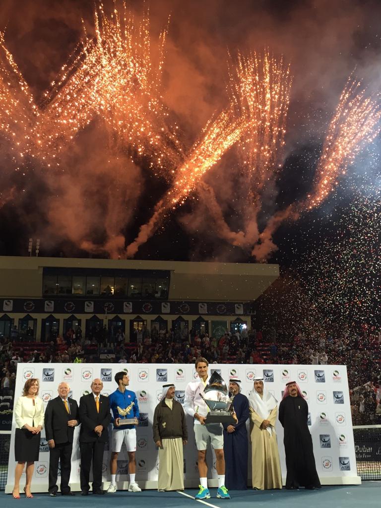 Your 2015 Dubai champion, Roger Federer. http://t.co/3qirEHsUr7