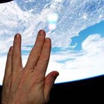 Astronaut Terry Virts sends a tribute to Leonard Nimoy from the International Space Station. http://t.co/yMjPwtGdiS