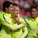 Suárez, un gol y dos pases decisivos, clave en triunfo 3-1. Mirá el gol que hizo. Video. http://t.co/X2Ztkzsmos http://t.co/6DU0XPLzYm