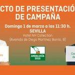 Tras la lección magistral de Albert en #UTNLaPizarraDeAlbert Mañana en Sevilla acto presentación de campaña http://t.co/PcuapwuWyq