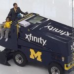 What I wouldve given at the age of 11, to ride on the Zamboni #GoBlue http://t.co/AIznoKT56d