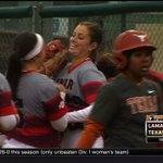PECK EM! @LamarSoftball hands nationally-ranked Texas a 9-1 mercy rule loss in Austin! Highlights at 6 #12SportsSETX http://t.co/P5InloLanK