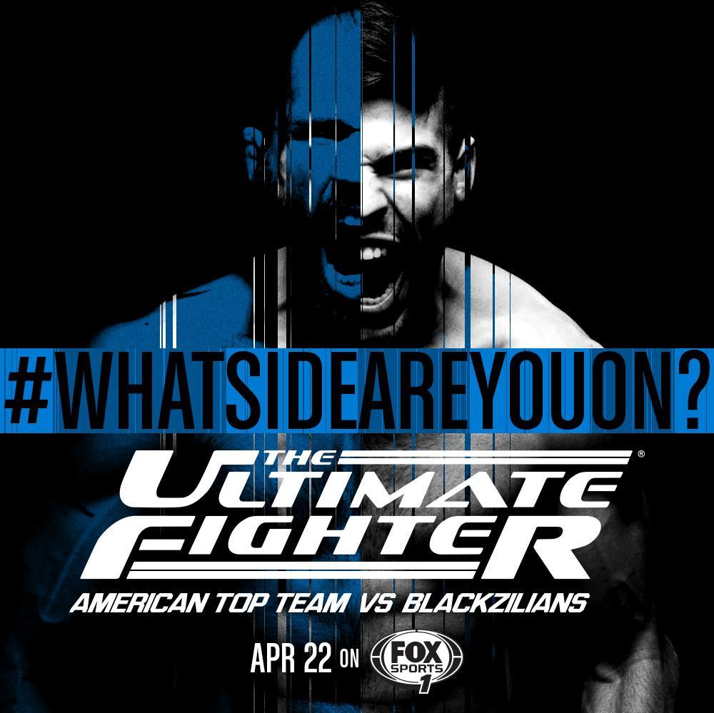 The Ultimate Fighter pits @AmericanTopTeam against rivals @Blackzilians #WhatSideAreYouOn? http://t.co/PItmjM4D1J http://t.co/PENmoNW2OZ