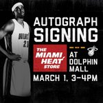 Tomorrow, @youngwhiteside will be at @miamiheatstore Dolphin Mall from 3-4pm. More details: http://t.co/qZ7ZmEnbwQ http://t.co/rt5TdOoj3C