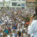 MCM en Táchira: Vengo aquí a inspirarme de la valentía del Táchira. Vzla recuperará la democracia gracias a ustedes http://t.co/vbxwudpfGN