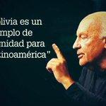 Somos un país que esta recuperando su dignidad y orgullo...Yo tambien de ser Boliviana. @jcrquiroga @jesicaecheveria http://t.co/O4sMXDRwRr