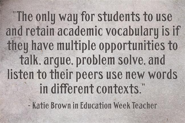My NEW @EdWeekTeacher post:Strategies For Vocabulary Instruction - Part One http://t.co/9gvbtgpySI w/ @kdcanonbrown http://t.co/la1W1c959V
