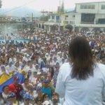 Mi admiración y respeto a este noble y bravo pueblo! El Táchira es hoy la conciencia de Venezuela. http://t.co/2cWvgyfrd2