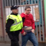 """""""@JakePompeySmith: Harry Potter getting nicked after the #Pompey game today xD! #Oxford fans ❤️???????? http://t.co/ySc0LbAbJf""""????????????????????"""
