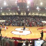 The crowd at Indianapolis Southports 7,100-seat gym. Reitz-Southport varsity coming up. http://t.co/h7jh9Glv04