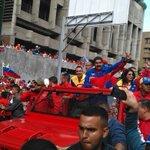 Presidente @NicolasMaduro aquí está su pueblo consciente y consecuente.. #VzlaAntiImperialista #28FMarchaPorLaPatria http://t.co/vFmN6LOUJh