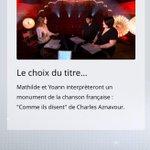 Dispositif #SocialTV pour les battles de #TheVoice inédit et top ! http://t.co/mIBIftWtuB