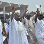 Arewa people in Southern Nigeria endorse President Jonathan for 2nd term in Asaba, Saturday. #ForwardMarchForGEJ http://t.co/64fxjsWP0J