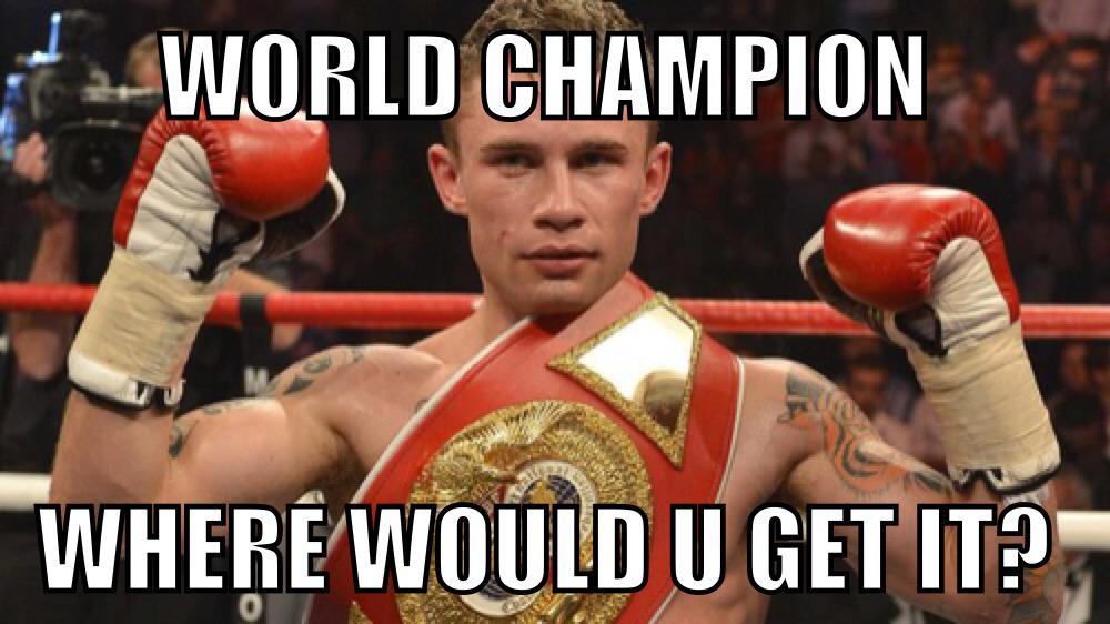 C'mon @RealCFrampton congrats #WorldChampion http://t.co/NZvQtyzNjm