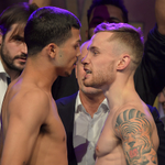 """Lets get ready to rhumble..."" Follow all the action as Carl Frampton takes on Chris Avalos: http://t.co/F5vz3okINx http://t.co/Ql1HPB1BZ5"