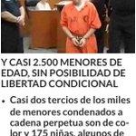 """Los que están """"preocupados"""" por Venezuela… EEUU TIENE A 79 NIÑOS CON MENOS DE 14 AÑOS CONDENADOS A CADENA PERPETUA http://t.co/D3SJtrzni8"""