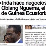 #L6Npizarrarallo Vuelve Inda con Venezuela. Mientras él hace negocios con dictadores. http://t.co/Raxhx3s11x