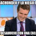 Pablo Casado menosprecia hasta el desahucio en el que se utilizó una excavadora #L6Npizarrarallo http://t.co/yOwHS5DVZq