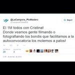 #Hoy #1M El inexplicable tuit de #LaCampora Y eso q la Gran Jefa les pidió amor, amor, amor http://t.co/HTrYYxSKuM