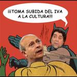 ¡¡Toma subida del IVA a la Cultura!! #L6Nsabina http://t.co/kEJGswjjjD