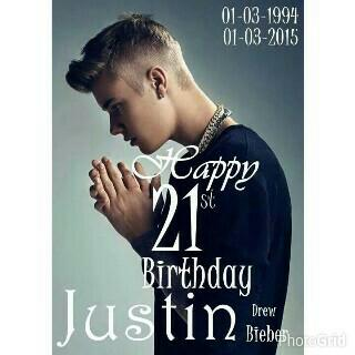 happy birthday justin bieber,   Is the best   lopyouuuuu