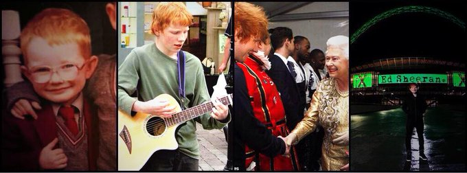 Happy birthday Ed Sheeran, you\re the proof that dreams really can come true.