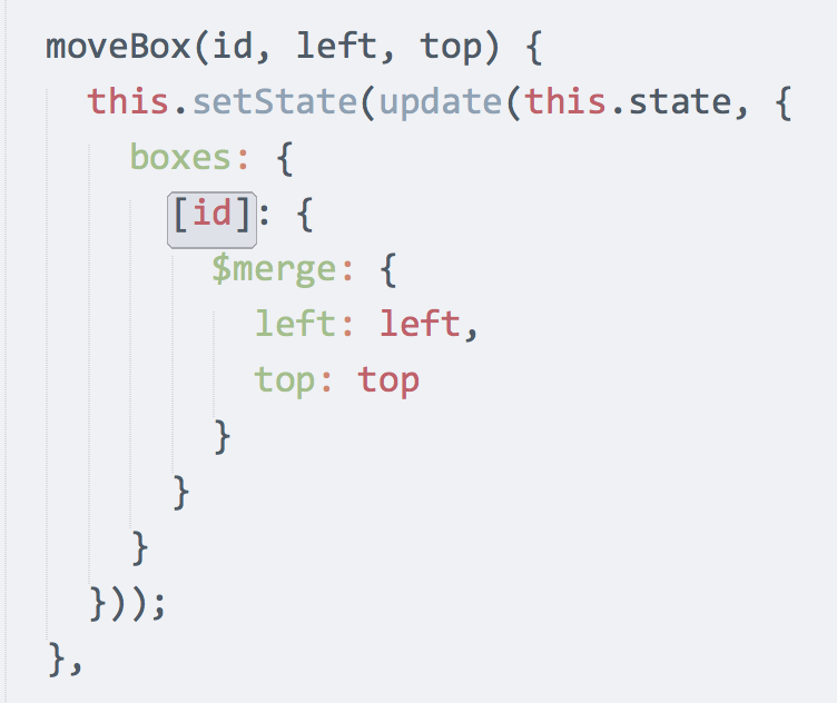 RT @dan_abramov: I didn't switch to @babeljs (ex @6to5js) for ES6 classes or imports. I switched for { [key]: value } syntax. http://t.co/aYkA8DmEbN