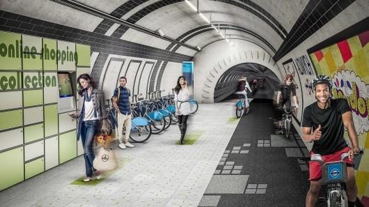 Londres prepara rutas para bicicletas en la ciudad usando túneles del Metro http://t.co/qjJ2DI73HS http://t.co/VbnRhWNJzg
