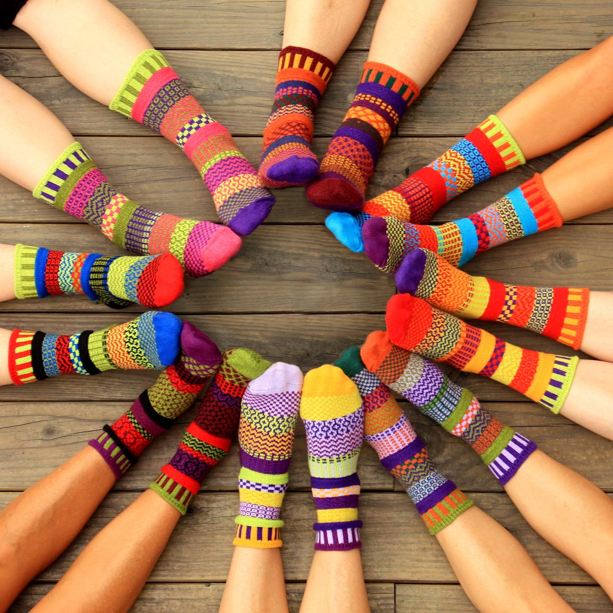 """Life is too short for matching socks"" is the motto at Solmate Socks, now available  @SocksMax http://t.co/CtEv7blnmD"