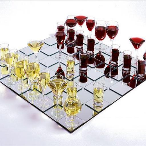 """""""Drink your opponents piece! #wine #chess"""" http://t.co/yvso6We8p6 RT @winewankers #winelover"""
