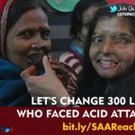 RT @_GuptaChetan: @sreesanth36 Ur 1 #RETWEEET can bring smile 300+ #AcidAttack #Survivors In #india #help_us http://t.co/9MLZHdbNUS http://…