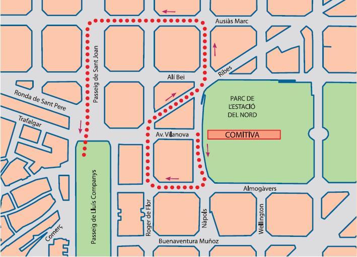 A la desfilada del 21/2 11:30h de l'#AnyNouXines a @Bcn_Eixample hi haurà dracs, lleons xinesos, diables i castellers http://t.co/B9nMnhrtrH