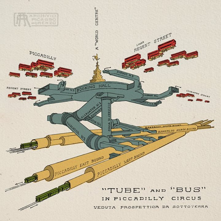 Piccadilly Circus' Underground station https://t.co/b9OGW46LoF . . http://t.co/xIqGR5TI2l