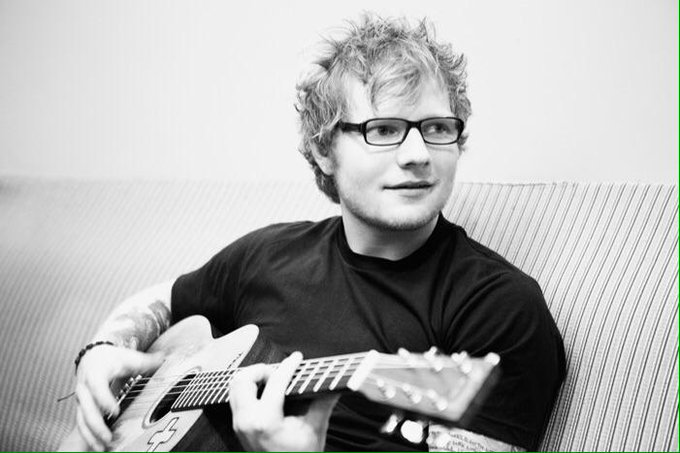A very special day to celebrate with. Happy Birthday to this amazing man! Ed Sheeran        I love you!