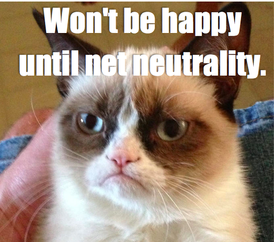 8 days left until the @FCC vote. Stay grumpy until we get what we want: real #NetNeutrality! http://t.co/QQx9tCyrLp http://t.co/E1Moo1jUES
