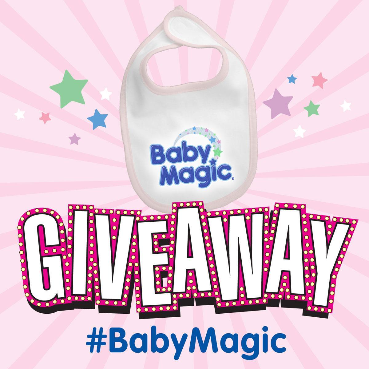 Retweet this for a chance to win a Baby Magic bib! #BabyMagic We'll announce the winner tomorrow. http://t.co/2xxRK1tSFu