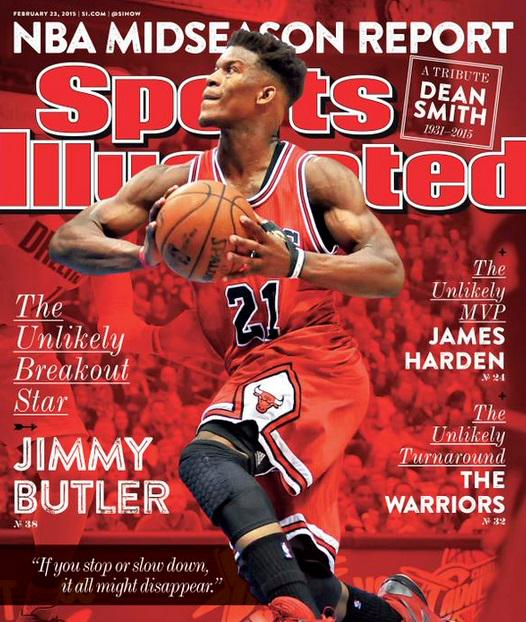 Jimmy Butler Covers Sports Illustrated http://t.co/Tfd6pCL12X