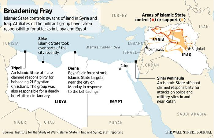 Updating: Egypt's Sisi calls for UN backed coalition against ISIS as it spreads to Libya: http://t.co/wY965tEziD http://t.co/X0kuMzXo5R