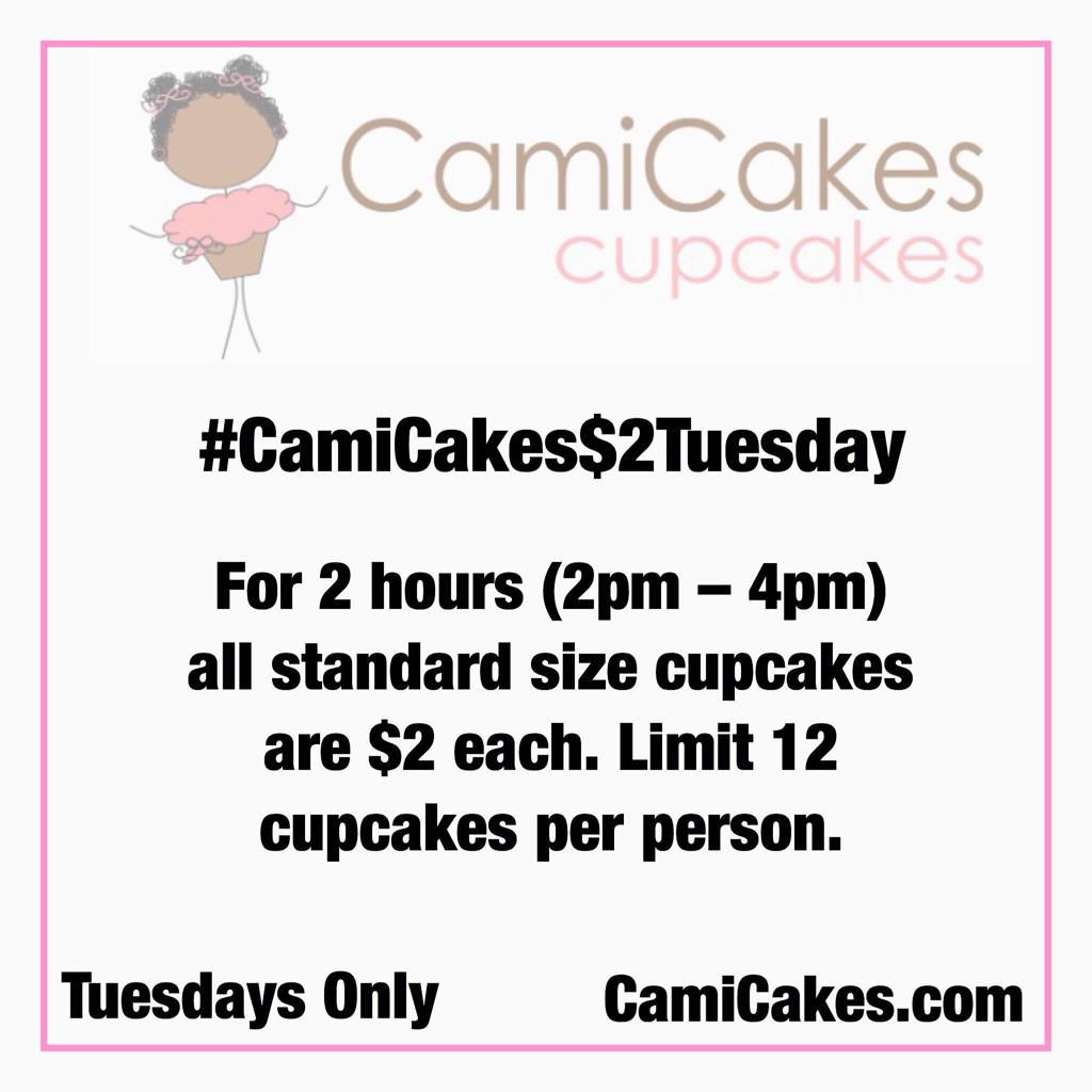 Happy Fat $2Tuesday! Celebrate with CamiCakes!!!