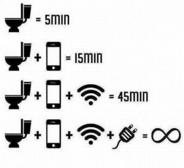 Toilets and smartphones... there's a connection http://t.co/QLCm6BkM2T